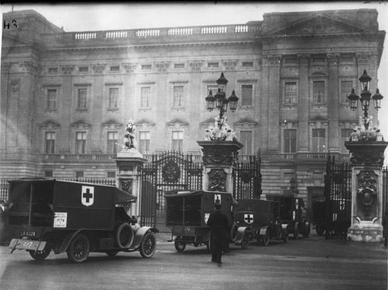 SSA 3 at Buckingham Palace 7th February 1915