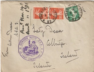 WW1 Letter home